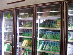 大型定温冷蔵室