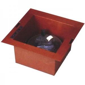 【茶器/茶道具 炉壇】 ヤマキ電器 ヤマキ式 炉用 炉壇セット 銅製 炉用600W (遠赤外線電気炭付 強弱切替えスイッチ付)