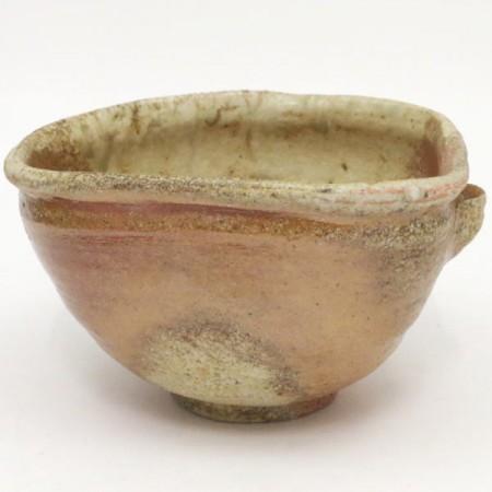 【茶器/茶道具 抹茶茶碗】 信楽焼き 片口 寺垣外窯