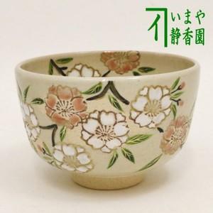 【茶器/茶道具 抹茶茶碗】 乾山写し 桜 中村与平作