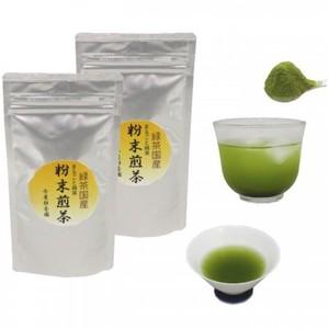 【日本茶/緑茶 粉末茶】 粉末煎茶(粉末緑茶) 50g入り×2袋