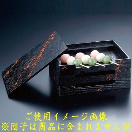 【茶器/茶道具 菓子器/菓子箱】 田楽箱 柳蒔絵