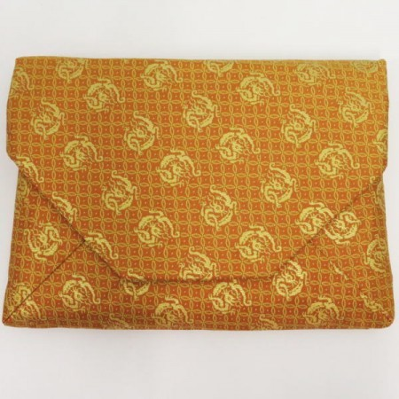 【茶道具 数奇屋袋(数寄屋袋)】 正絹 西陣織り 宗雪裂