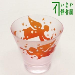 【フリーグラス ガラスコップ(硝子コップ)】 ガラス(硝子) 天使(エンジェル) 太武朗作