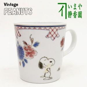 【マグカップ コップ】 SNOOPY 和文様 花 マグ
