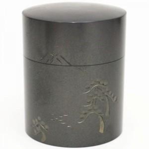 【茶筒】 富士 銅製 100g用