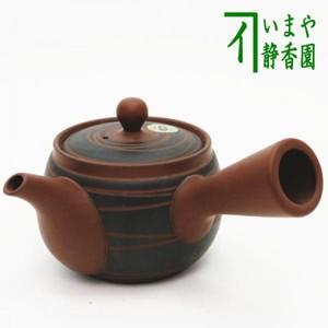 【急須】 常滑焼き(とこなめ焼き) 円筋文 帯網(帯アミ) 350ml