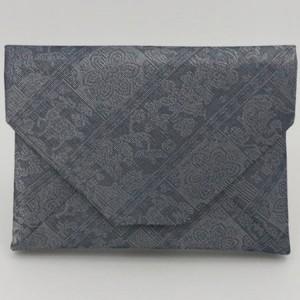 【茶器/茶道具 数寄屋袋(数奇屋袋)】 夏用 正絹 紗織 紅牙瑞錦 龍村美術織物裂使用