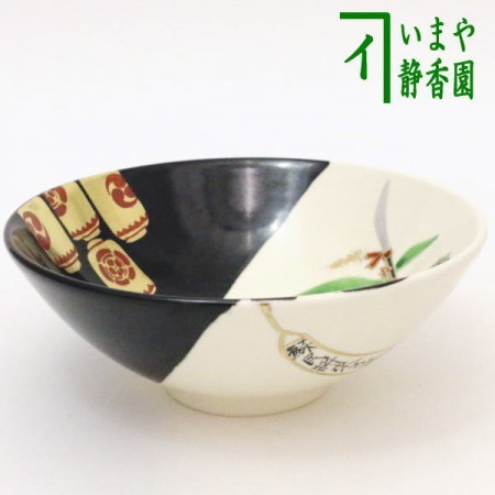 【茶器/茶道具 抹茶茶碗】 平茶碗 祇園祭 今岡都作