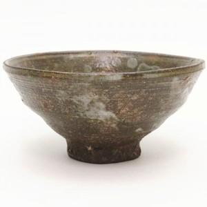 【茶器/茶道具 抹茶茶碗】 高麗茶碗 柿の蔕(かきのへた) 丸子窯