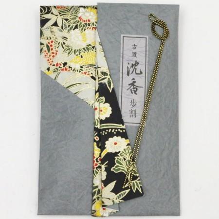 【茶器/茶道具 お香】 沈香 古渡 角割(香木) 7.5g (定番) 日本香堂製