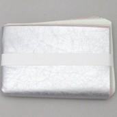 【茶器/茶道具 炭道具】 紙釜敷き 銀もみ五色 山崎吉左衛門作