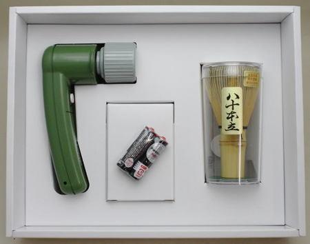 【茶器/茶道具 水屋道具/茶筌(茶筅・茶せん)】 電動茶筅 (電気茶筅・電器茶筅) 現在すべて同一機種