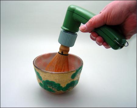 【茶器/茶道具 水屋道具/茶筌(茶筅・茶せん)】 電動茶筅 (電気茶筅・電器茶筅)