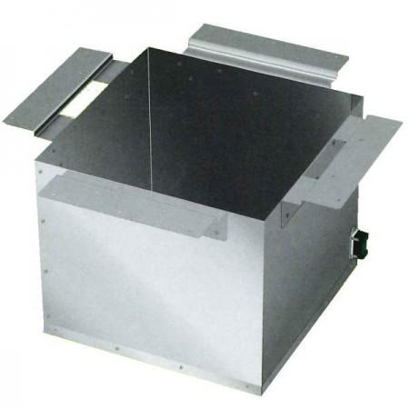 【茶器/茶道具 炉壇/炉だん】 ヤマキ電器 炉壇受け 内側コンセント付 ステンレス製