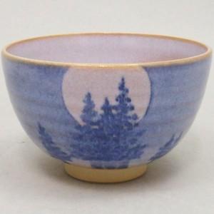 【茶器/茶道具 抹茶茶碗 御題「光」】 御題茶碗 月光 山岡善昇作