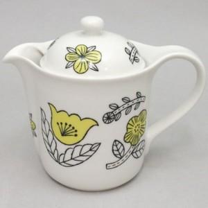 【急須/ティーポット SV2】 CELEC(セレック) mug for all 松尾 ミユキ Vポット 花柄 390ml