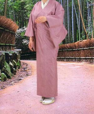 【茶器/茶道具 着物用レインコート】 四季の彩 雨コート