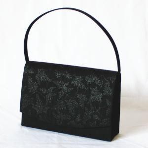 【日用品/麻雑貨・袋物】 しのぶ柄フォーマルバッグ 幡井上企画