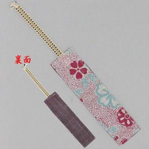 【日用品/雑貨 しおり/ブックマーカー】 麻しおり 桜