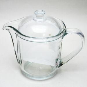 【急須/ティーポット/だしポット GAV-3】 CELEC(セレック) ガラス(硝子) ニューギヤマンVポット クリアー 耐熱硝子 約480ml.