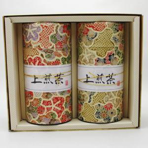 【日本茶/緑茶 ギフトセット(詰め合わせ・ご贈答)】 香川県産 煎茶 上讃岐の雫(上和紙缶)2缶セット 各150g入 「缶入り」