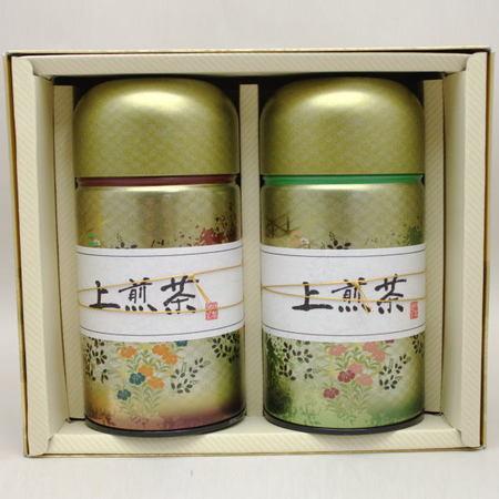 【日本茶/緑茶 ギフトセット(詰め合わせ・ご贈答)】 香川県産 上煎茶 2缶入 各150g入 「缶入り」