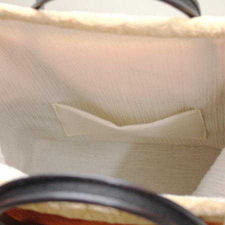 【茶道具 日用品/雑貨 バッグ・バック/五嶋紐メーカー】 五嶋紐メーカー/組み紐 手提げバッグ