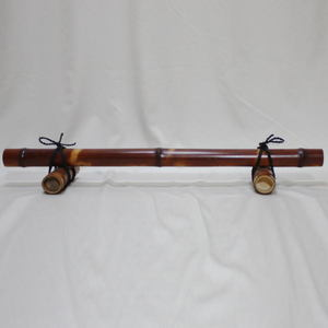【茶器/茶道具 結界】 煤竹 結界 高4寸×約幅90cm