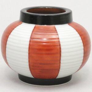 【茶器/茶道具 蓋置】 提灯 (紅白) 高野昭阿弥作(和楽庵)