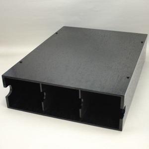 【茶道具/茶器 掛軸用品(掛け軸用品)】 掛軸収納箱 横軸3本用