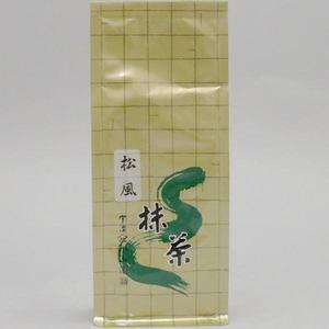 【抹茶】 松風 100g入り 山政小山園 (薄茶用)