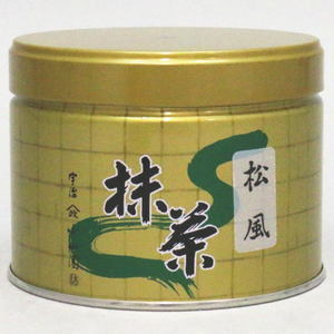 【抹茶】 松風 150g入り 山政小山園 (薄茶用)