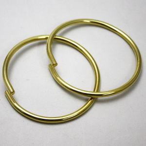 【茶器/茶道具 水屋道具 釜カン/釜環】 水屋環(水屋鐶) 真鍮製