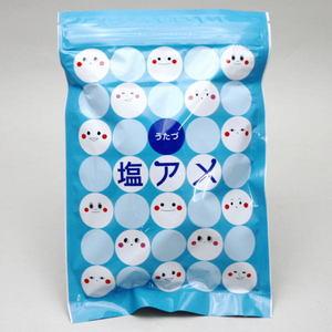 【お菓子・塩飴】 塩飴又はレモン味塩飴  宇多津町瀬戸内海の塩使用