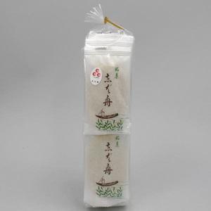 【お菓子 (お干菓子 せんべい)】 金沢(銘菓) 柴舟(しばふね)