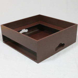 【茶器/茶道具 置炉】 IH専用置炉 ウルミ塗り (炉縁別売り) 電熱器使用不可