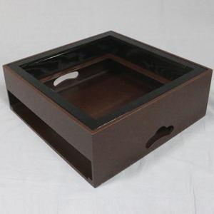 【茶器/茶道具 置炉】IH専用置炉 ウルミ塗り 炉縁 掻合 黒付 電熱器使用不可
