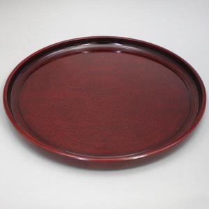 【茶道具/煎茶道具 煎茶盆(通盆)】煎茶盆 (讃岐:後藤塗り) サイズ直径:尺二