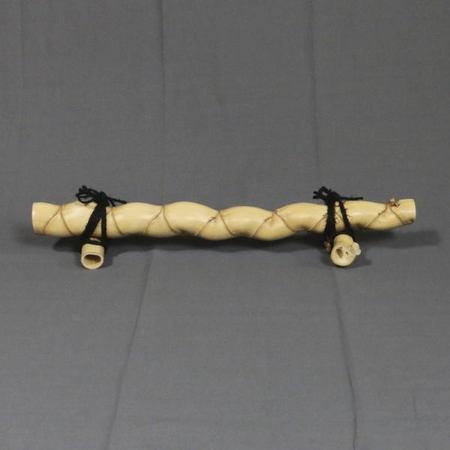 【煎茶道具】 結界 亀甲竹 約高121(4寸)×約幅66.5cm
