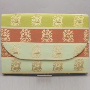 【茶器/茶道具 数奇屋袋(数寄屋袋)】 特大 新数寄屋袋 正絹 花兎