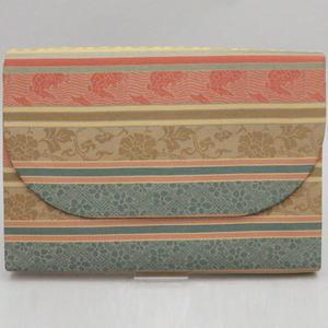 【茶器/茶道具 数奇屋袋(数寄屋袋)】 特大 新数寄屋袋 正絹 名物裂段紋 【smtb-KD】