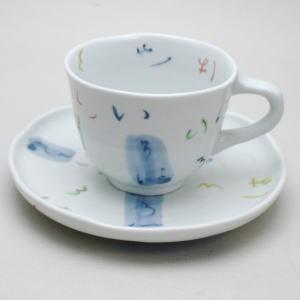 【日用品/雑貨 コーヒーカップ(ティーカップ)】有田焼 カップ&ソーサー いろは(有田焼)