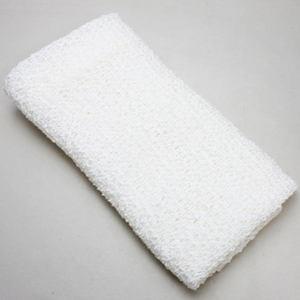 【日用品/雑貨 和紙タオル】洗える紙製品 洗える和紙 ボディタオル 白 ガーゼタイプ(織・ハイクオリティー)