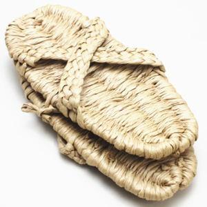【日用品/雑貨 サンダル(わら草履の代用)/草鞋】 洗える紙製品 エコ紙サンダル 1足~ (露地草履)に