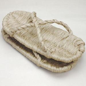 【日用品/雑貨 サンダル(わら草履の代用)/草鞋】サンダル 洗える紙製品 エコ紙サンダル 1足~ (露地草履)に