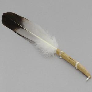 【茶道具 炭道具】 羽箒(はぼうき) 風炉用 青鷺