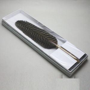 【茶道具 炭道具】 羽箒(はぼうき) 炉用 孔雀