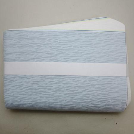 【茶器/茶道具 炭道具】 紙釜敷き 檀紙 水色 山崎吉左衛門作