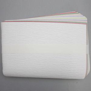 【茶器/茶道具 炭道具】 紙釜敷き 檀紙 五色 山崎吉左衛門作